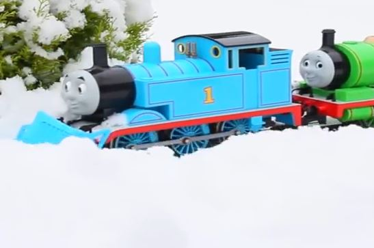 Thomas in the Snow – 13 Million Views