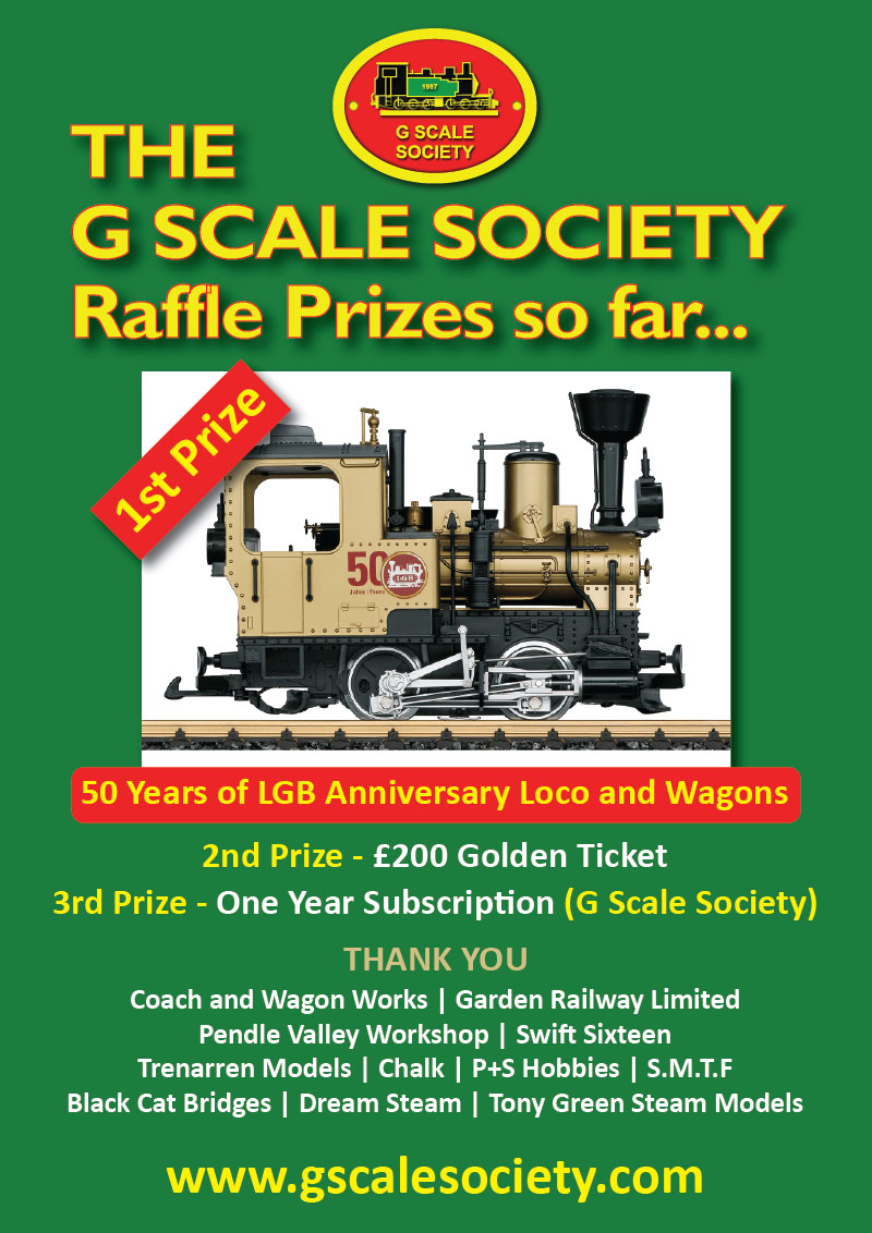 The G Scale Society Raffle 2019