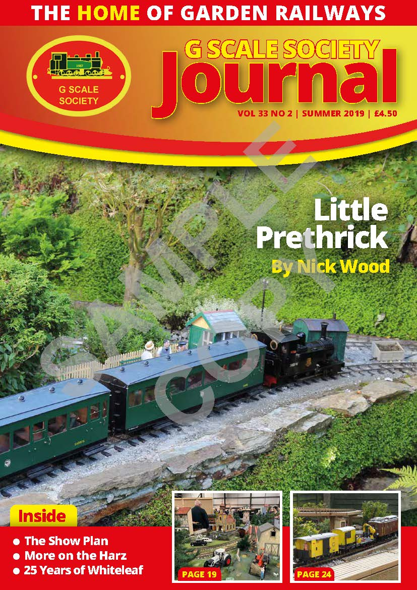 G Scale Journal Example