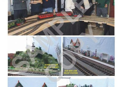 G Scale Society Journal example